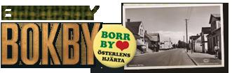 Borrby Bokby logotype